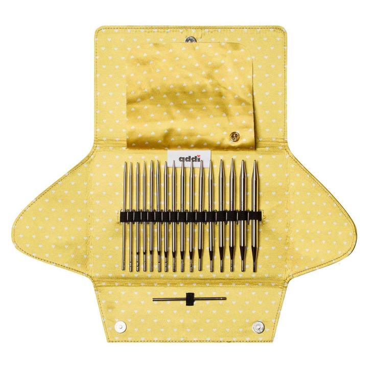 addi Click Mix Interchangeable Circular Knitting Needle Set