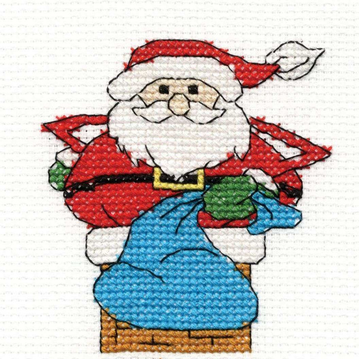 DMC Christmas Characters Mini Cross Stitch Kits