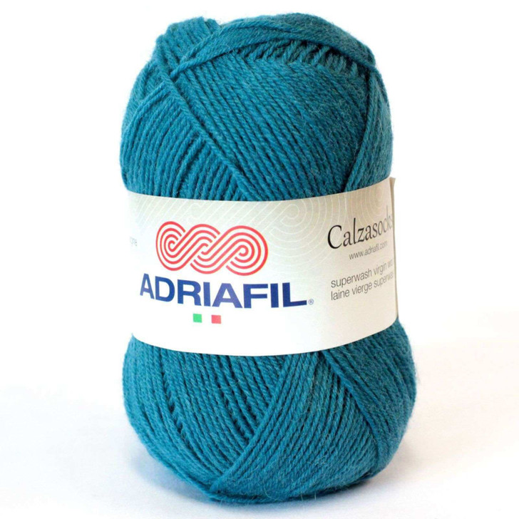 Adriafil Calzasocks Sock Yarn - Petrol Blue (037)