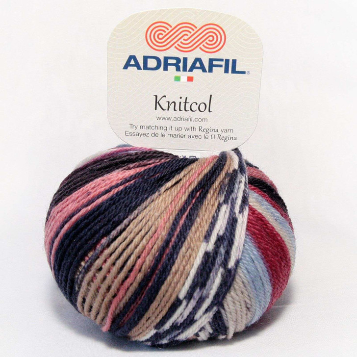 Adriafil Knitcol Yarn 50g - Géricault Fancy (073)