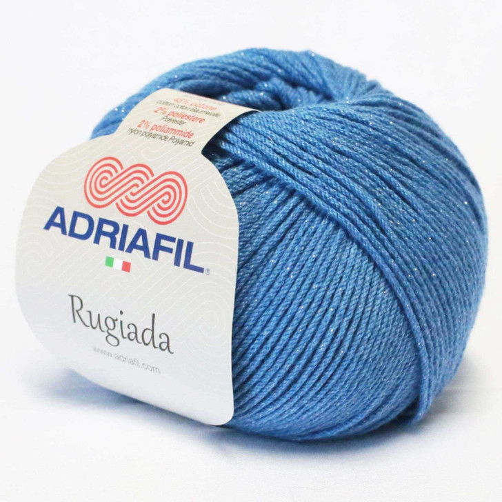 Adriafil Rugiada Yarn - Denim Blue (66)