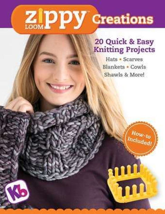 KB Pattern Book: Zippy Loom Creations - 20 Projects