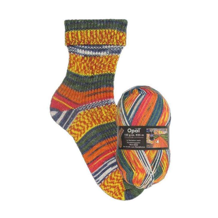 """Opal """"Hundertwasser"""" 4ply Sock Yarn"""