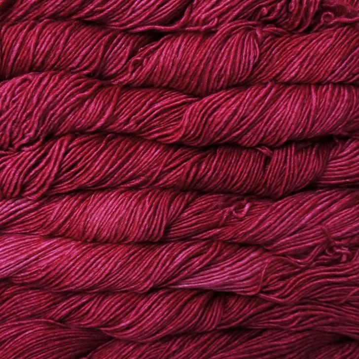 Malabrigo Silky Merino Yarn - Raspberry (401)