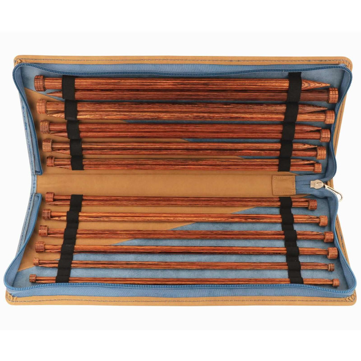 KnitPro Ginger Set Straight / Single Point Knitting Needles Set