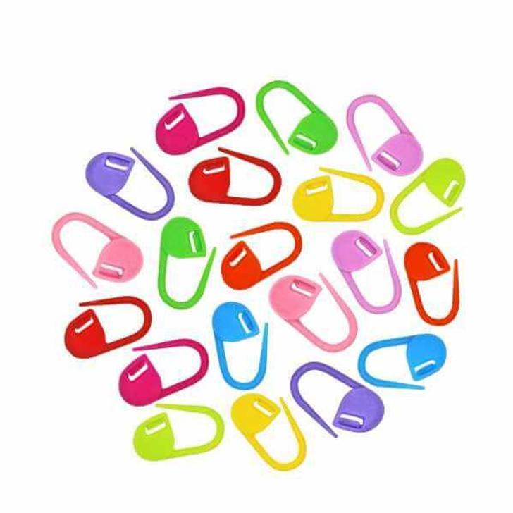 HiyaHiya Locking Stitch Markers (x20 Multicoloured)