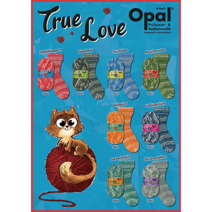 """Opal """"True Love"""" 4ply Sock Yarn - Full Range"""