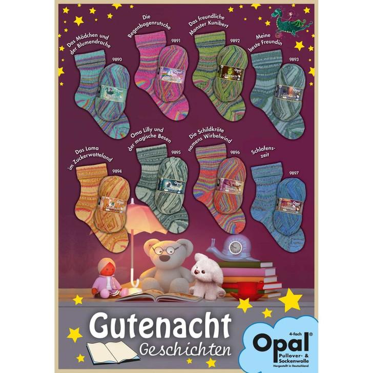 """Opal """"Bedtime Stories"""" 4ply Sock Yarn - Full Range"""
