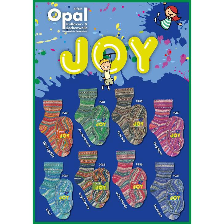 """Opal """"Joy"""" 4ply Sock Yarn - Full Range"""