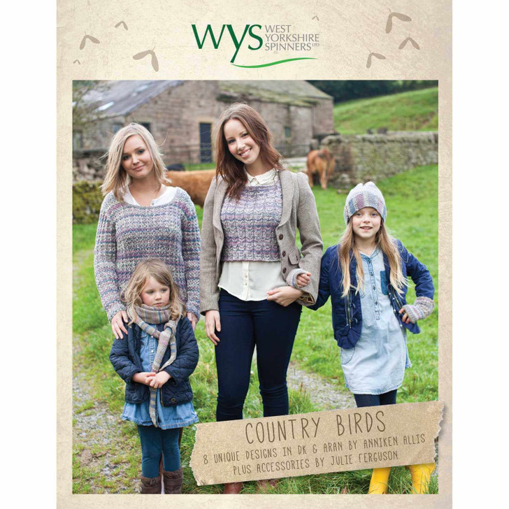 WYS Country Birds - Pattern Book
