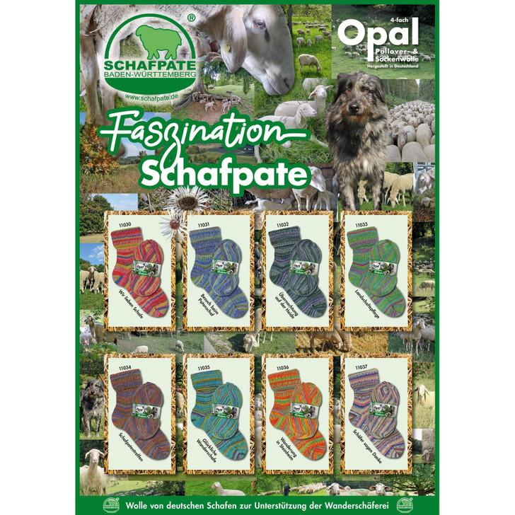 """Opal """"Schafpate 13 Fascination"""" 4ply Sock Yarn - Full Range (OP-SCH13)"""