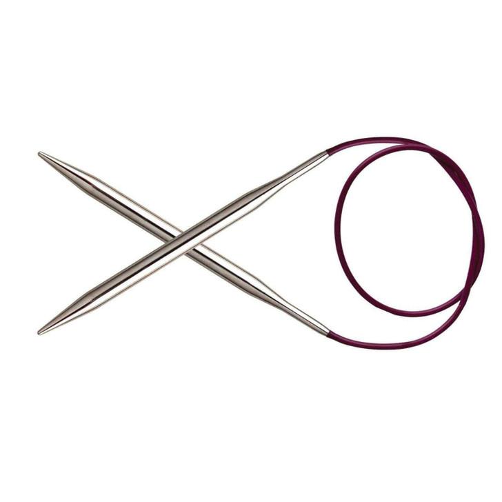 KnitPro Nova Metal 80cm Fixed Circular Needles