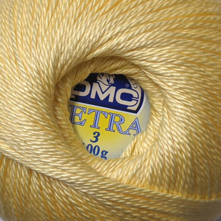 DMC Petra Crochet Thread - Colour: 5745 - Cotton - Size 3 - 100g