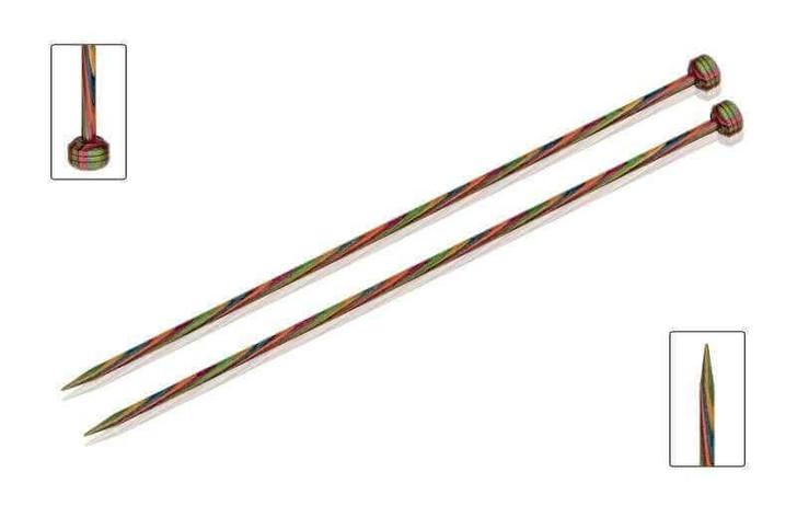 KnitPro Symfonie Wood 30cm Straight Needles