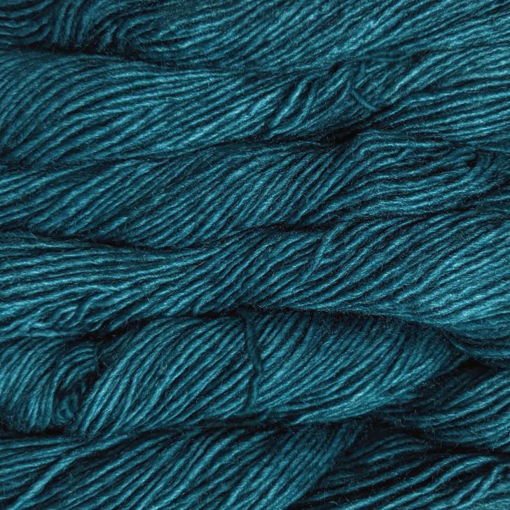 Malabrigo Silky Merino Yarn - Teal Feather (412)