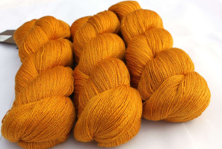 Fyberspates Scrumptious Lace Yarn - Gold (502)