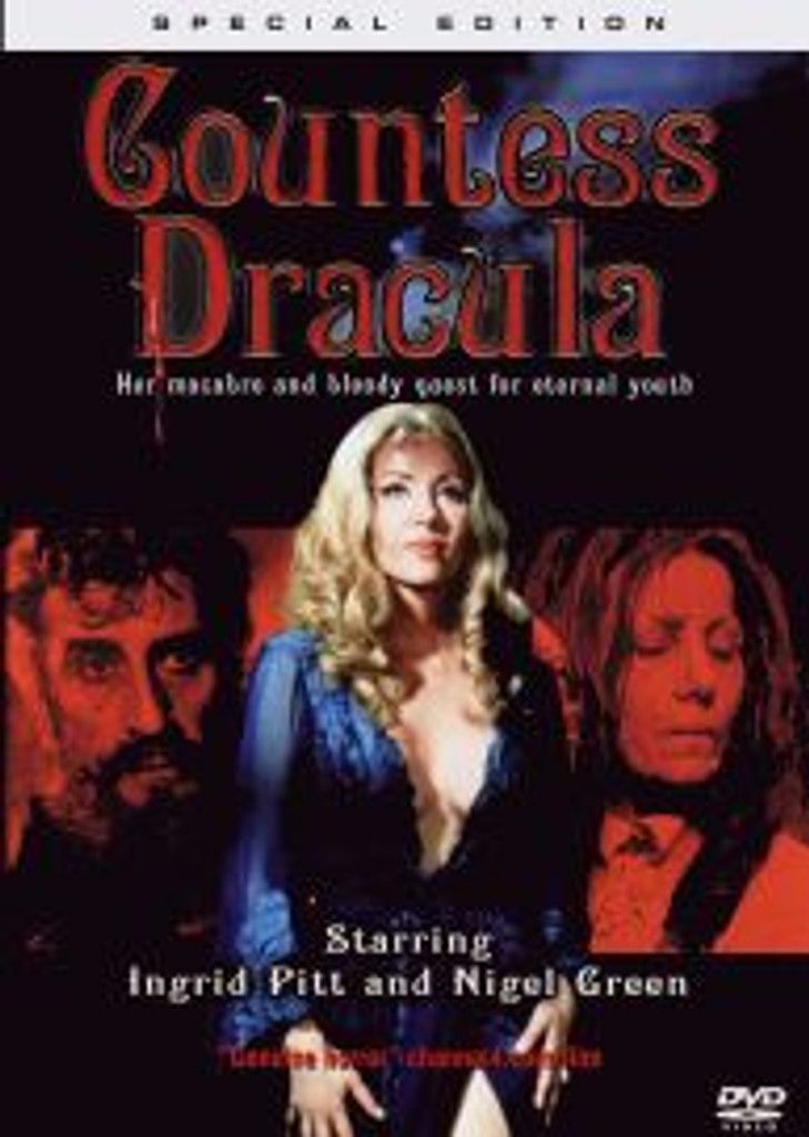 Countess Dracula Remastered Dvd