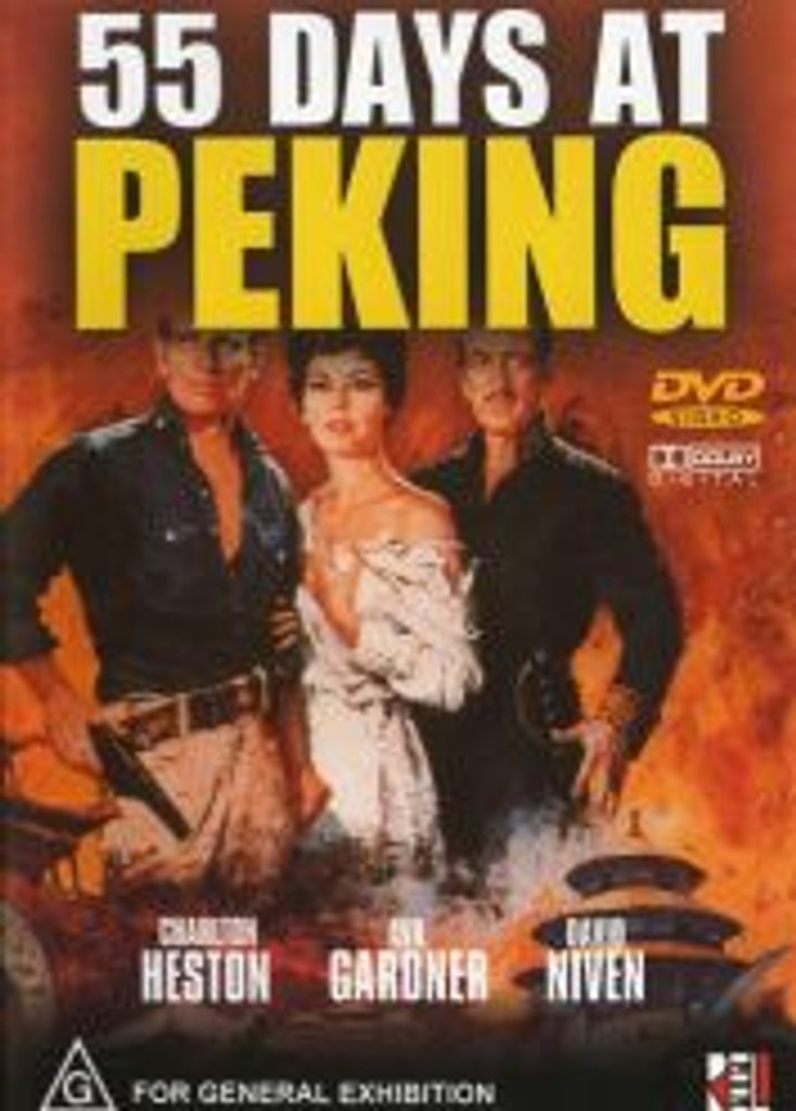 55 Days at Peking Digitally Remastered Dvd