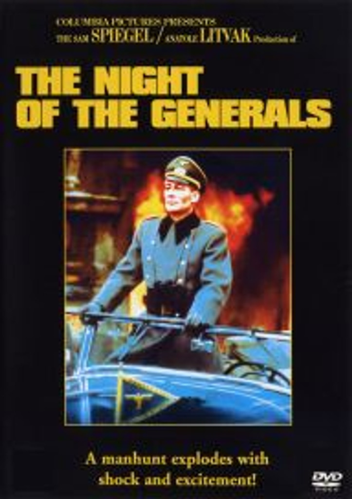 The Night of the Generals Dvd