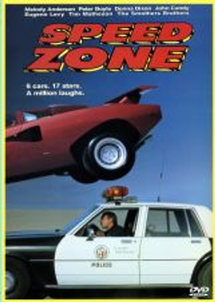 Speed Zone John Candy Comedy Dvd