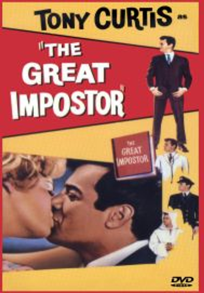 The Great Imposter Tony Curtis DVD
