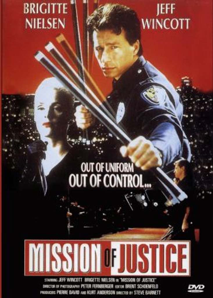 Mission of Justice(a.k.a Martial Law 3) DVD