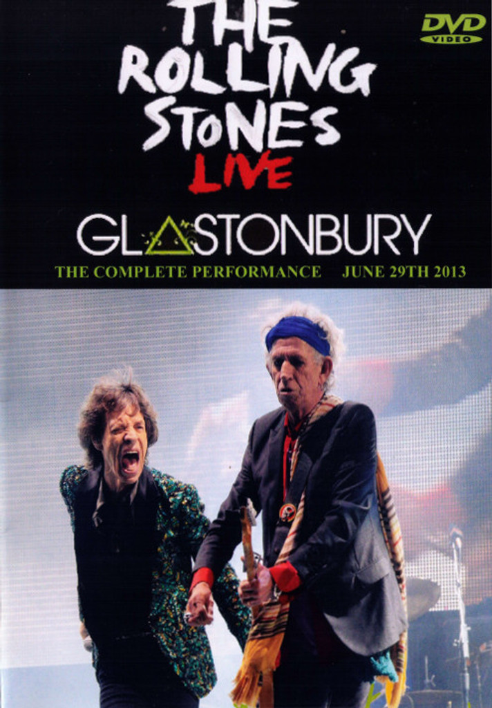 The Rolling Stones  Live at Glastonbury 2013