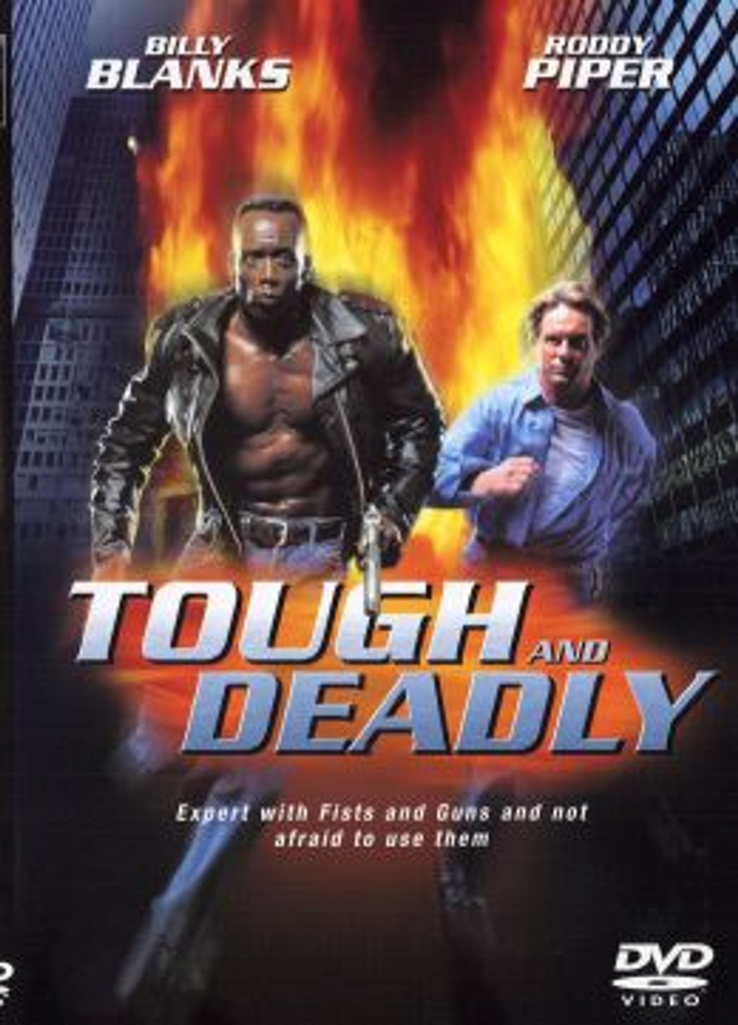 The Tough and the Deadly Billy Blanks and Roddy Piper DVD
