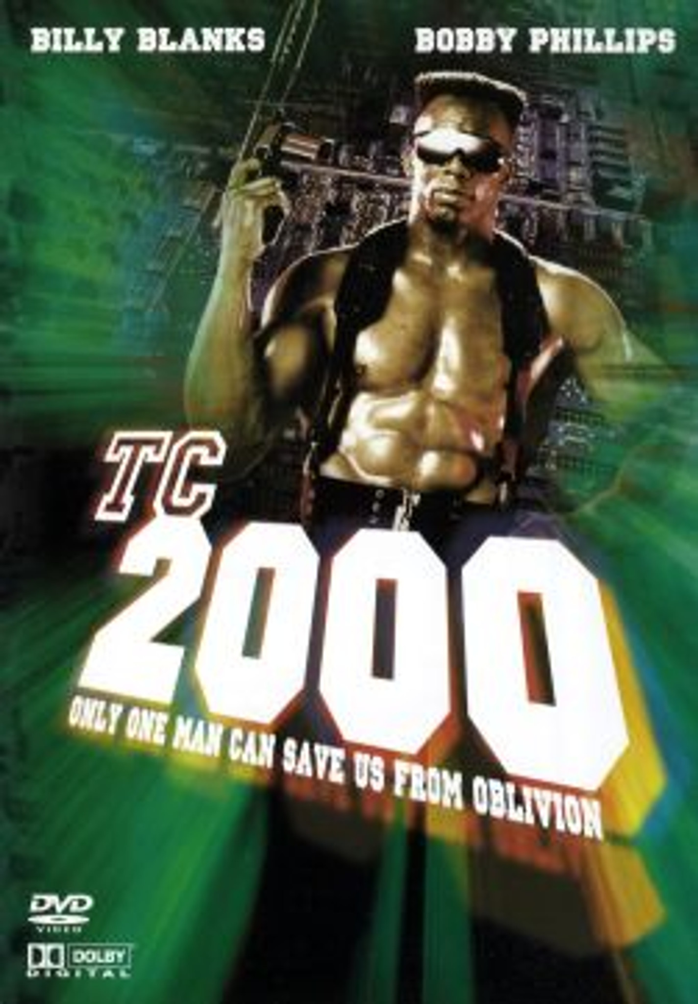 TC 2000 Billy Blanks Sci-Fi Actioneer DVD