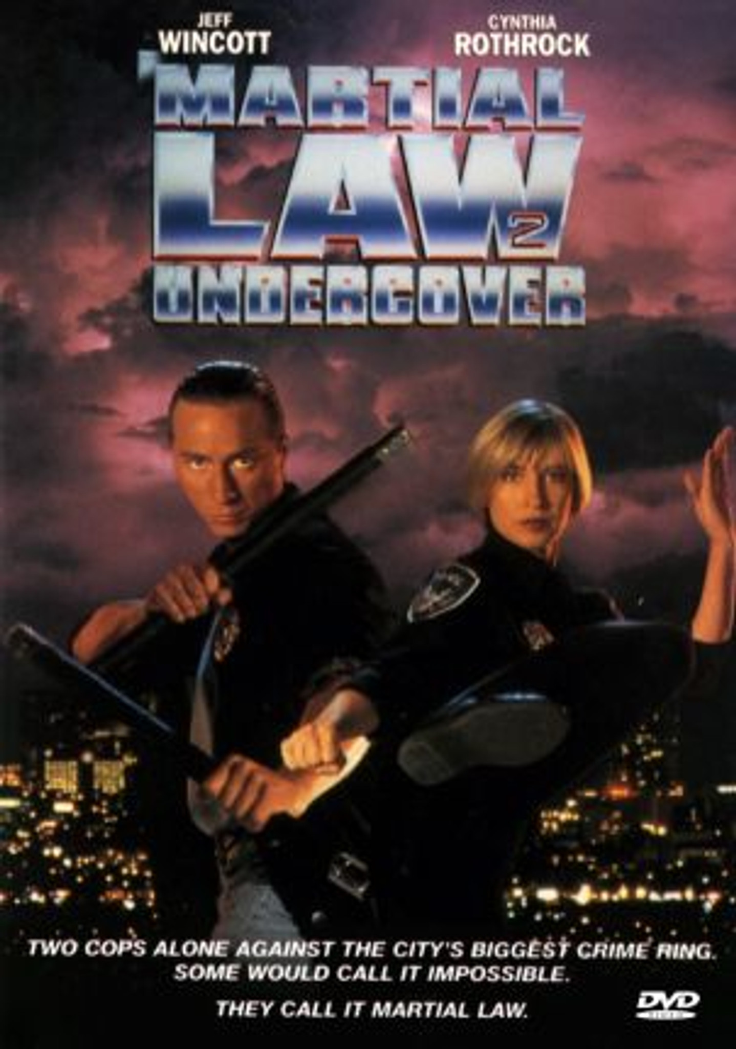 Martial Law 2: Undercover DVD