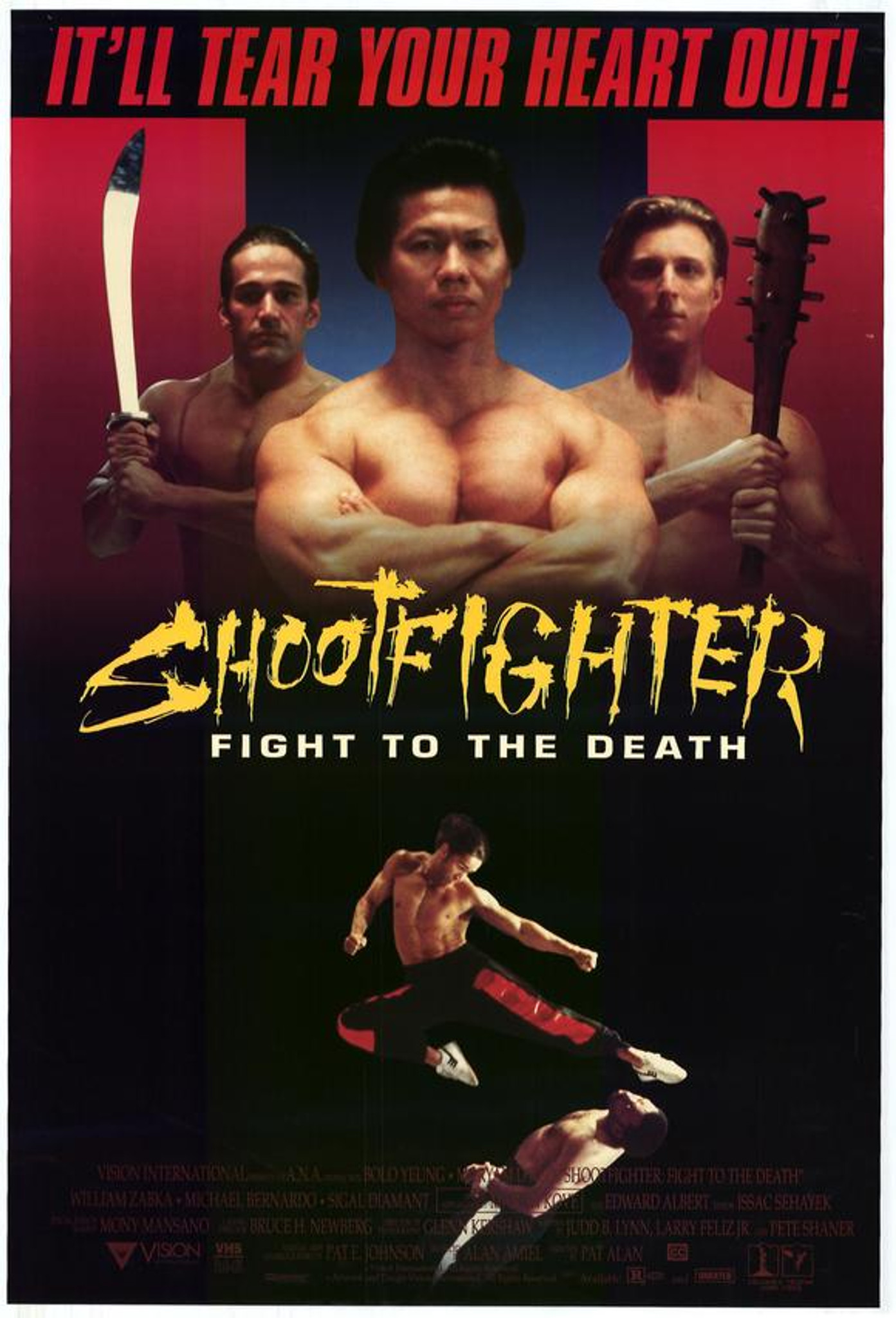 Shootfighter : Fight to the Death DVD