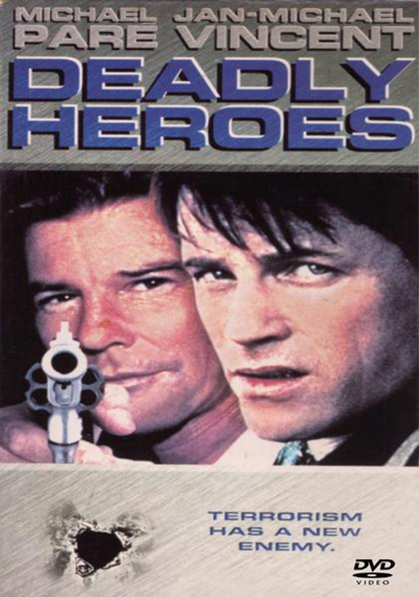 Deadly Heroes Dvd