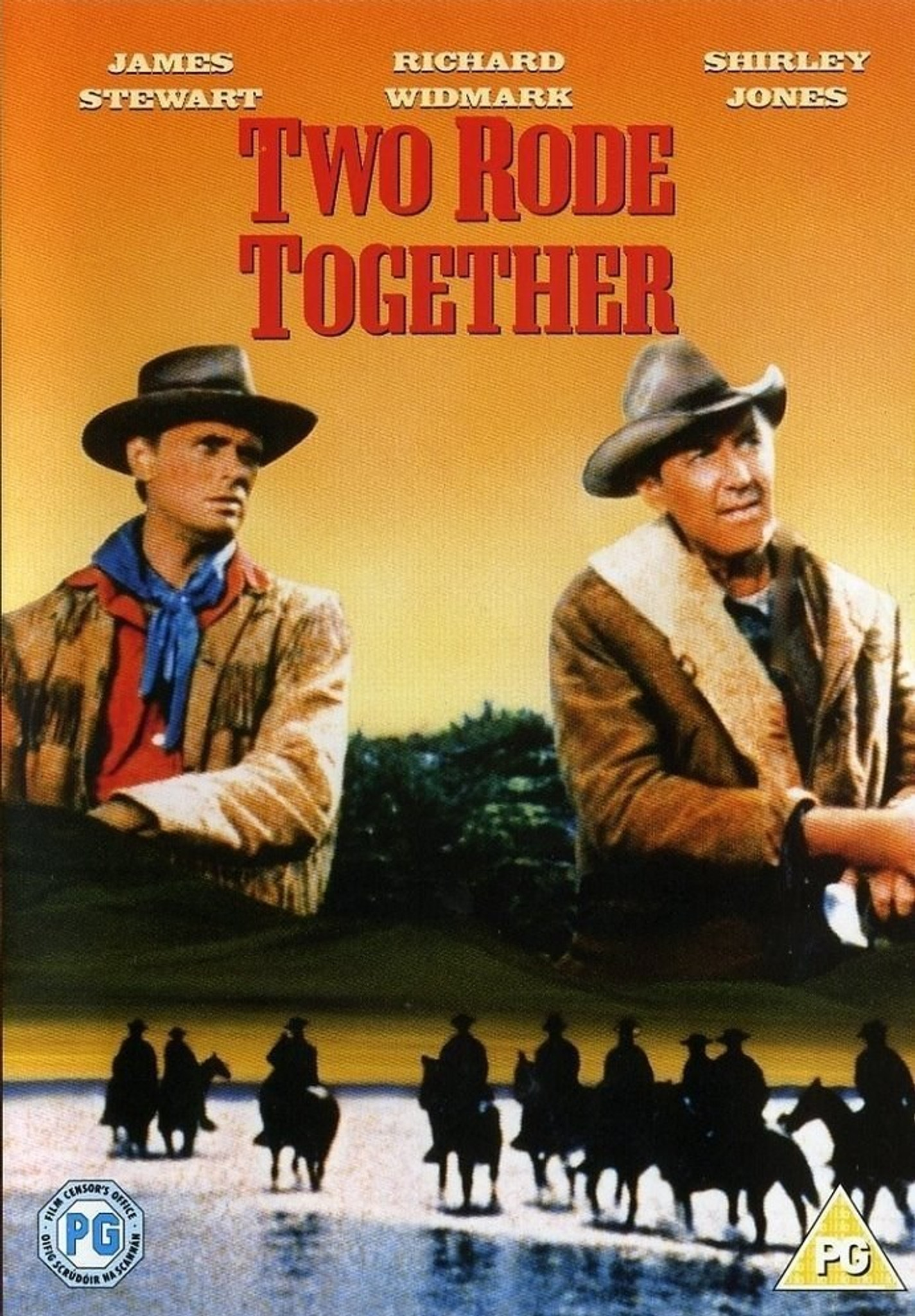 Two Rode Together Dvd