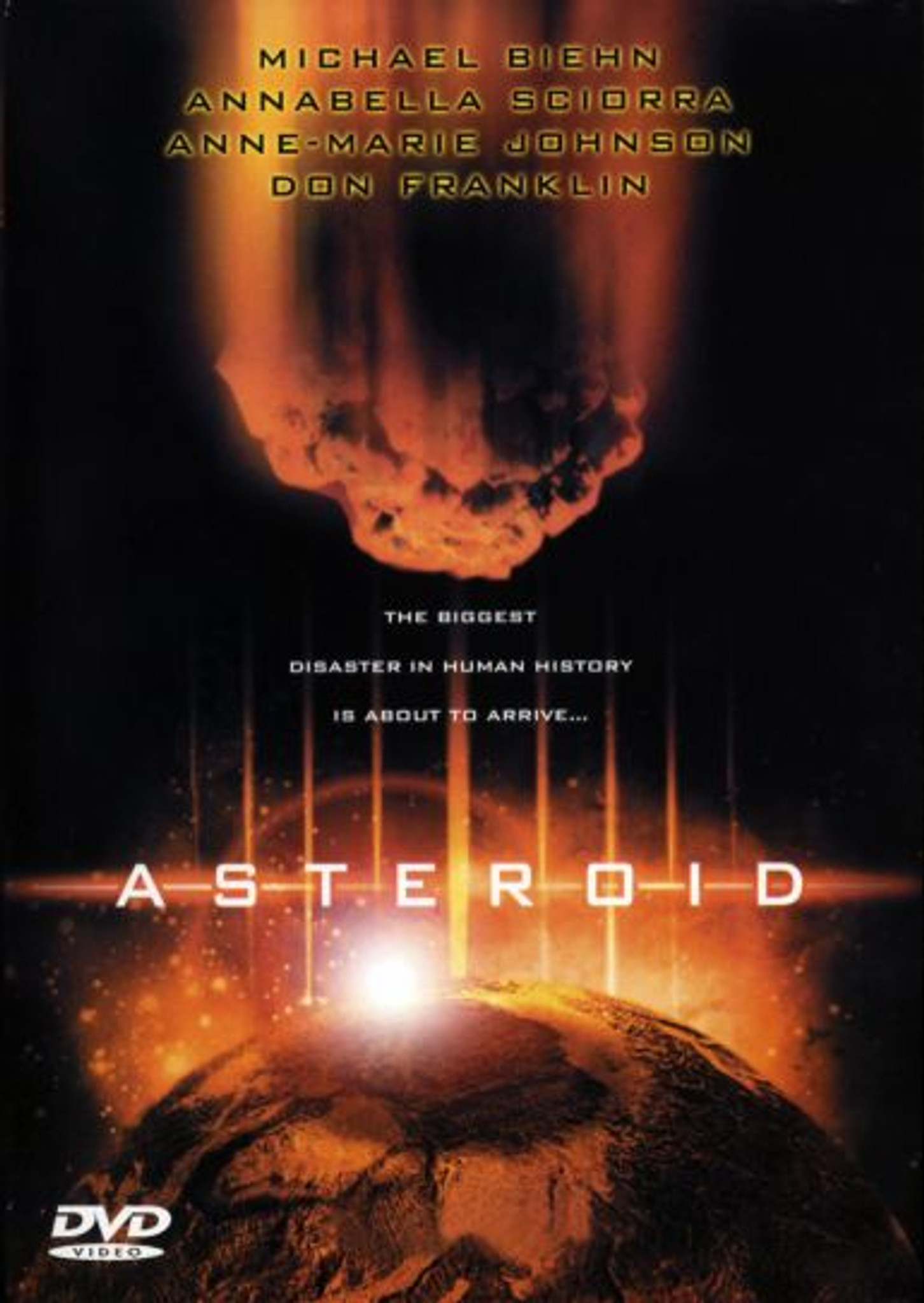 Asteroid Playable All-Regions Dvd