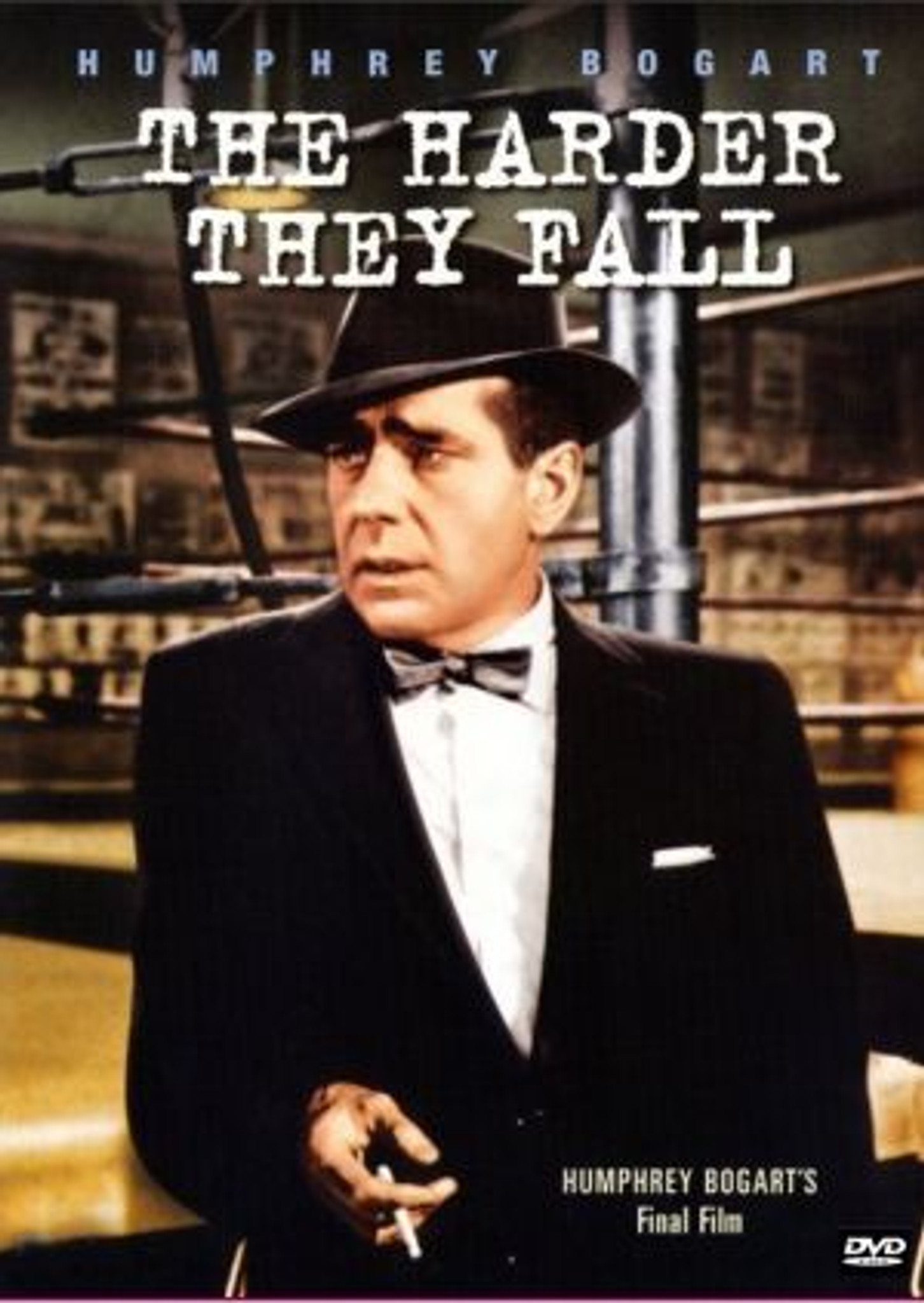 The Harder They Fall Dvd