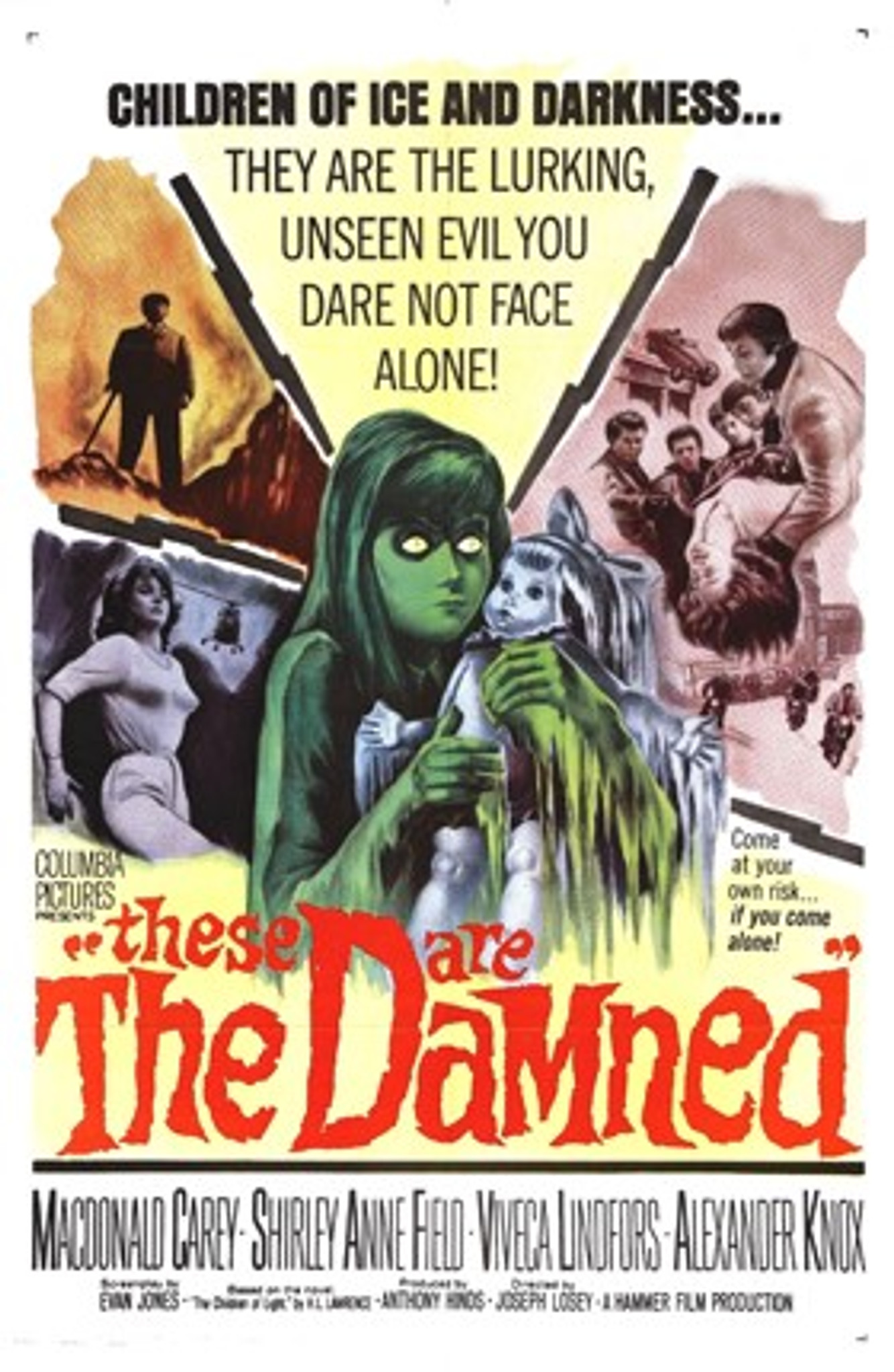 These Are the Damned (1961) Dvd