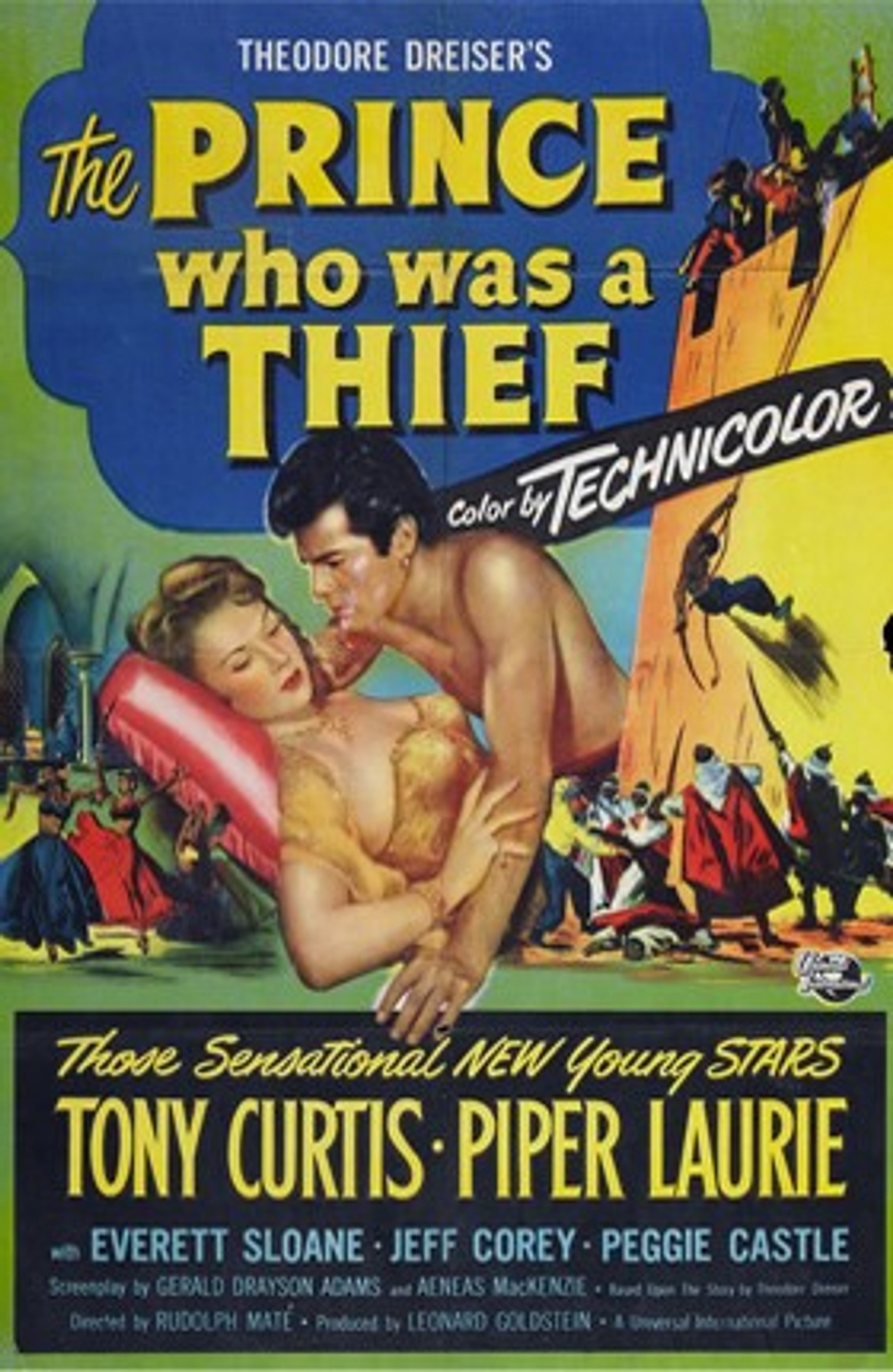The Prince Who Was A Thief (1951) Dvd