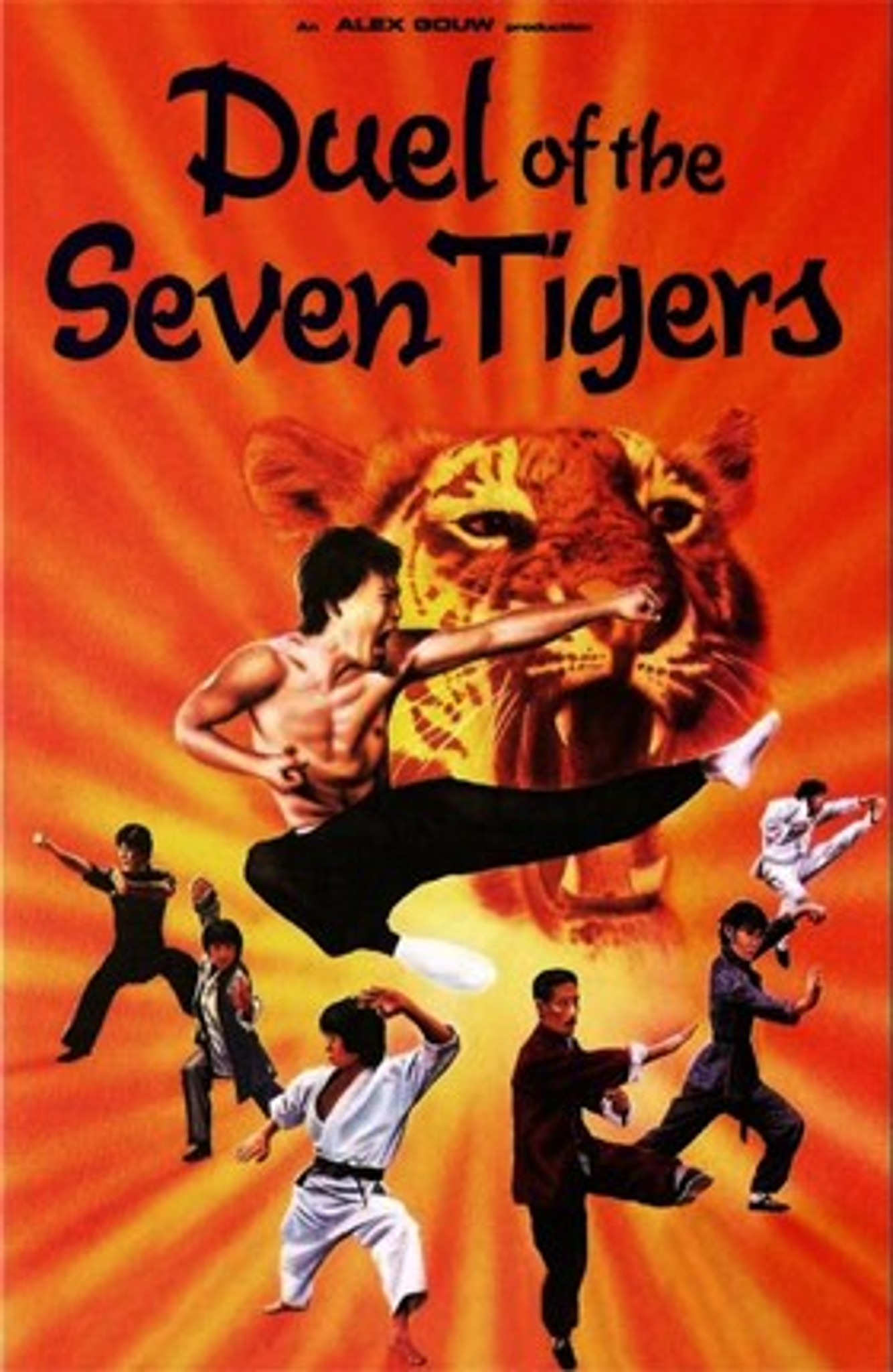 Duel of the Seven Tigers Dvd