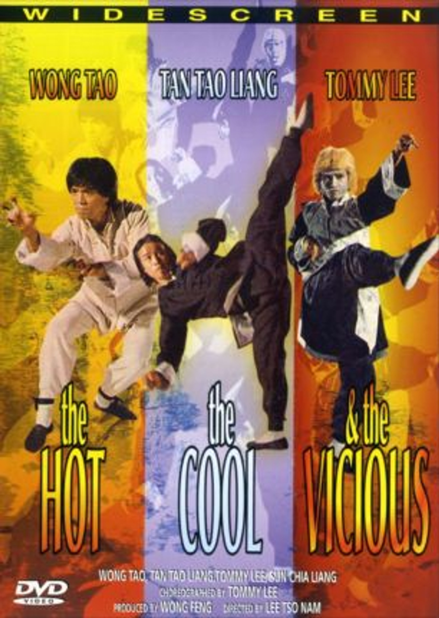 The Hot, The Cool, and The Vicious Collector's Edition Dvd