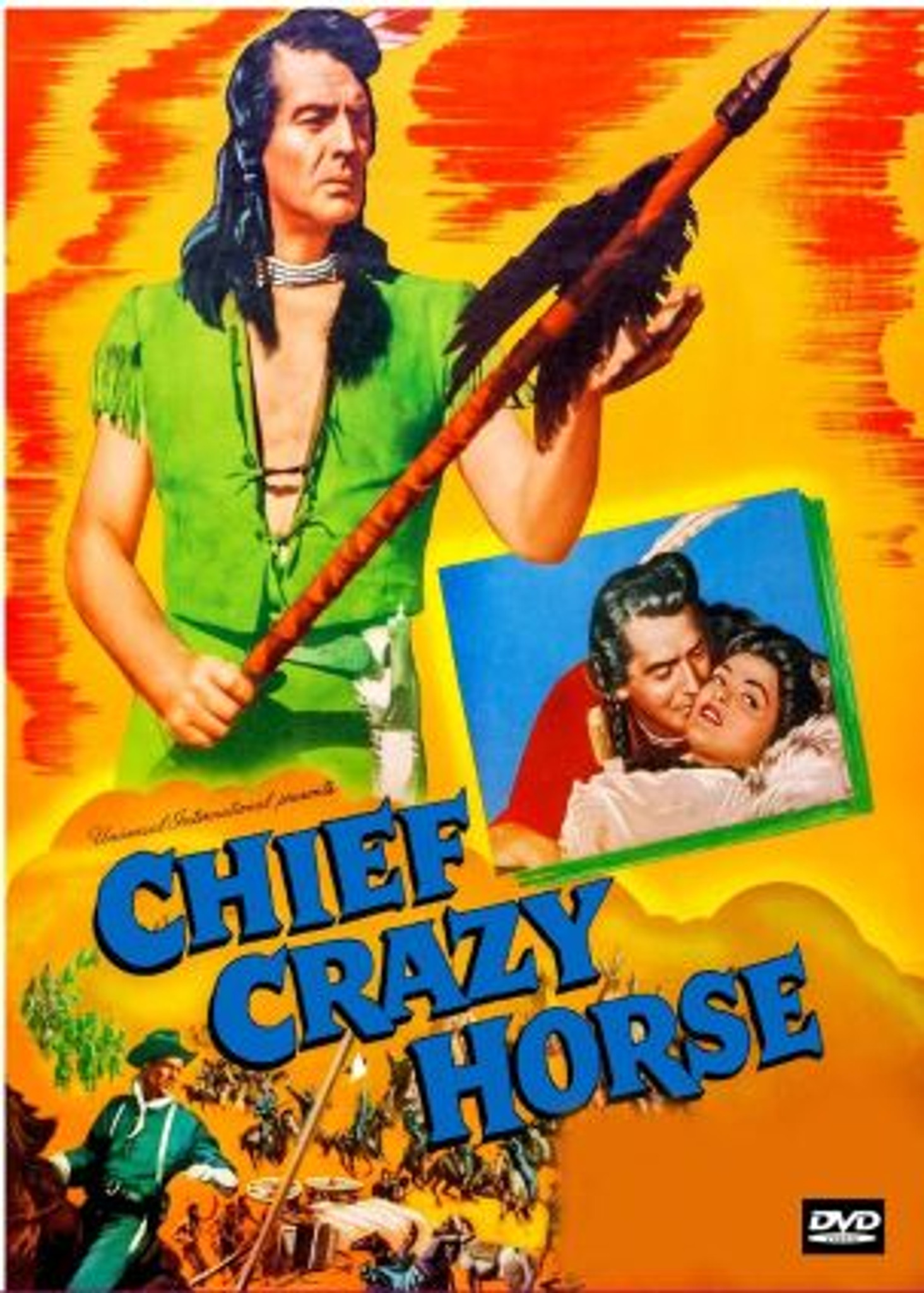 Chief Crazy Horse (1955) Victor Mature Dvd