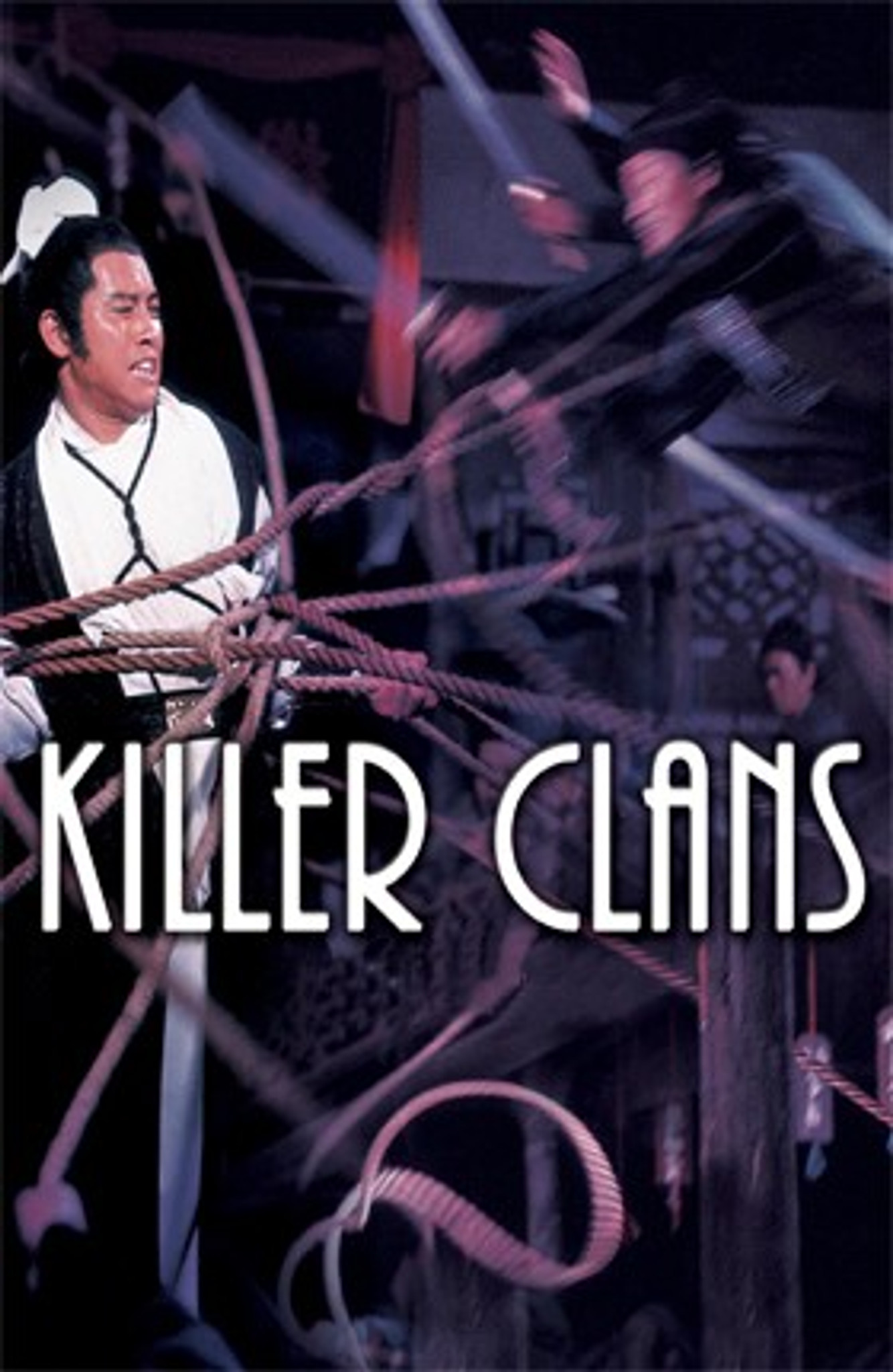 Killer Clans (1976) Dvd Shaw Brothers Martial Arts Film