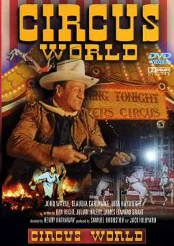 Circus World John Wayne Dvd