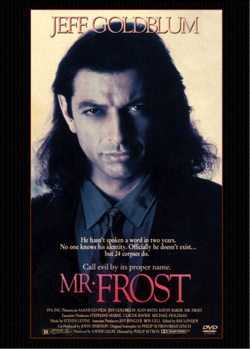 Mr. Frost (1990) Jeff Goldblum DVD