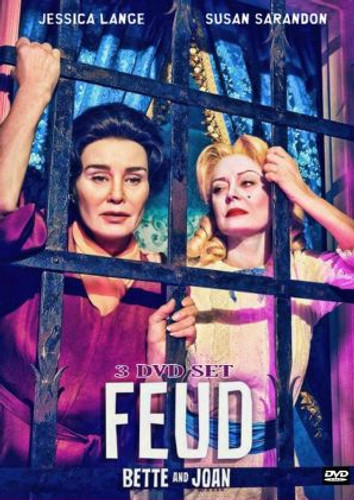 Feud: Bette and Joan 3 Dvd Set (All 8 Episodes)