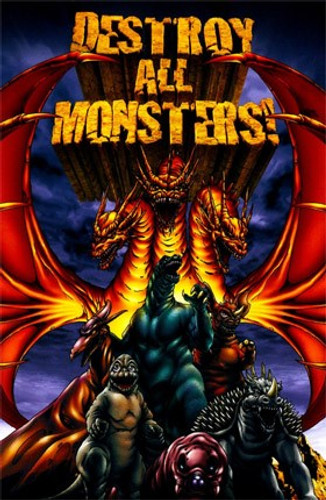 Destroy All Monsters (1968) Dvd
