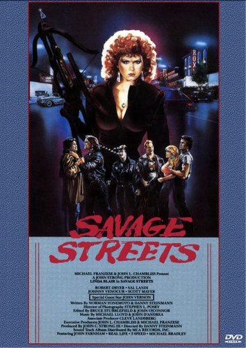 Savage Streets Playable All-Regions Dvd