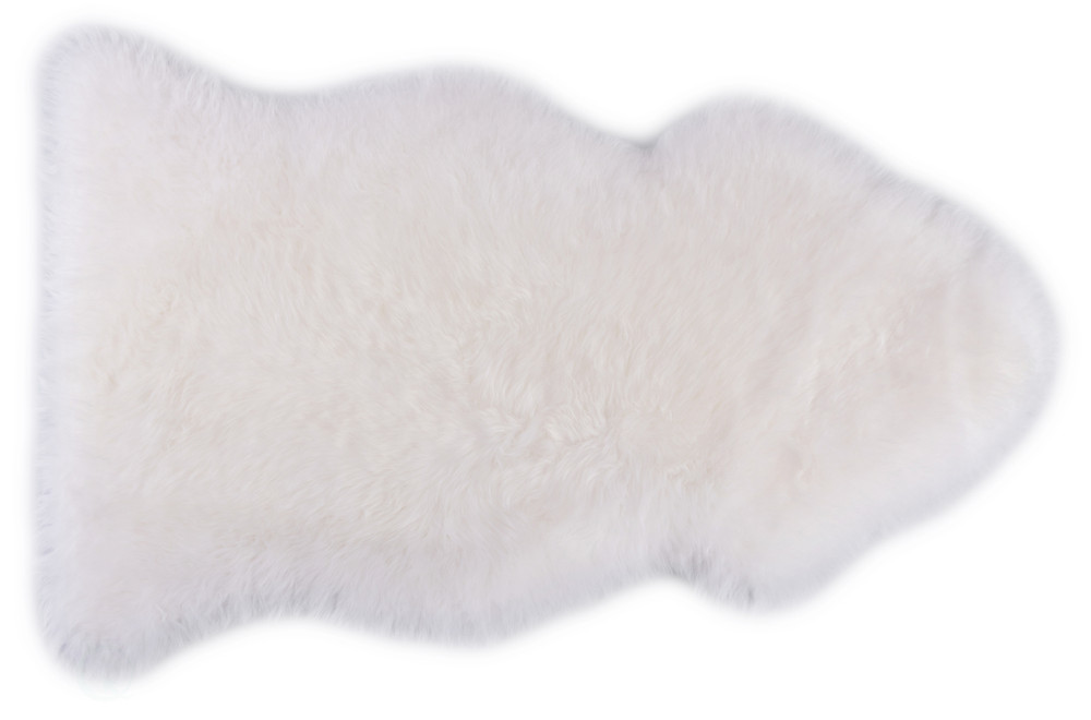 Genuine Australian Lamb Fur Sheepskin Rug Natural Single Pelt