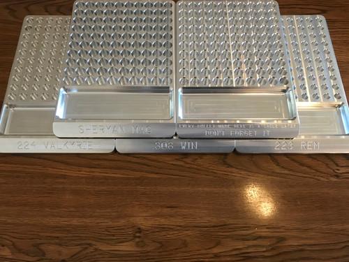 Aluminum Reloading Block - 100 round