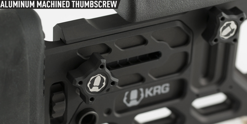 KRG Aluminum Machined Thumbscrew