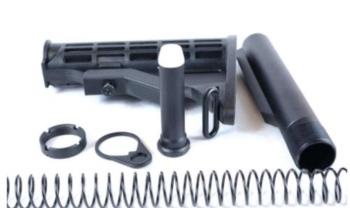 AT3 Mil-Spec AR-15 Buttstock Kit – Stock, Buffer, Tube, Springs, Plate